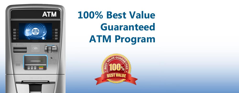 Best ATM Machine Value Guarantee