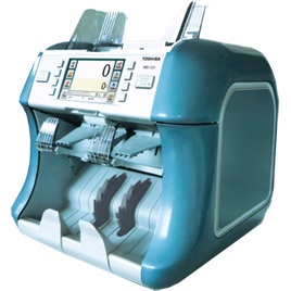 toshiba IBS 200 mixed currency sorter