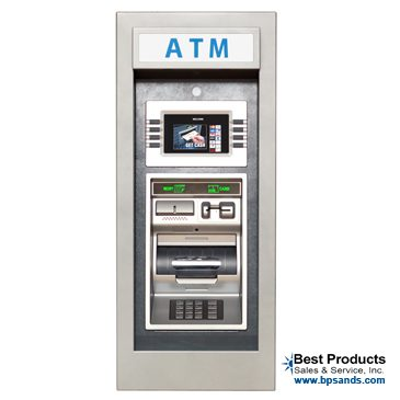 Genmega Onyx W Wall Mounted Atm Machine Best Products
