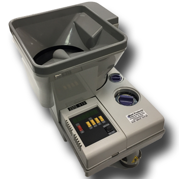 Scan Coin SC 313 Coin Counter & Coin Packager w/ Auto Feed
