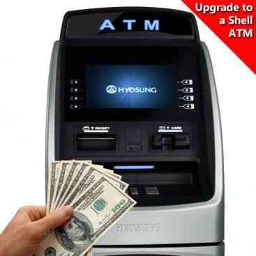 Hyosung 2700 Shell ATM
